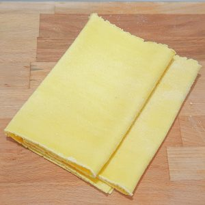 hojas de pasta