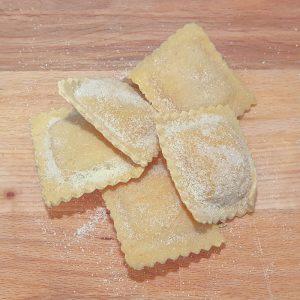 ravioli calabaza